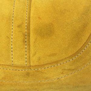Coach Bags - Coach Saffron Yellow Suede Hobo - 4286